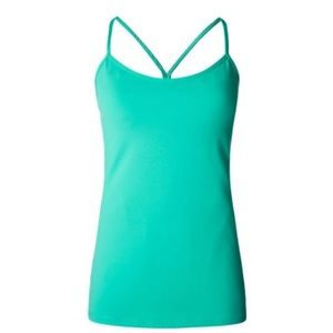 Lululemon Power Y Tank teal Bali Breeze